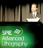 Kazuo Ushida, President of Nikon Precision Equipment (source: SPIE)