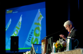 SEMI CEO Stan Myers opens Intersolar 2010